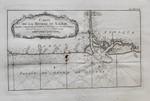 Kupferstich-Karte Jacques-Nicolas Bellin Afrika Calabar Nigeria Kamerun Kolonien Gulf of Guinea Biafra Foko Bonny slavery