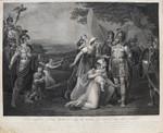 Kupferstich Henry Singleton Romulus Rom Römer Cures Sabini Titus Tatius Sabiner Santa Maria in Arci Talocci