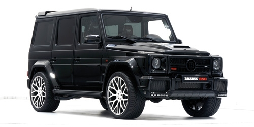 BRABUS 850 6.0 BITURBO WIDESTAR AUF BASIS MERCEDES-BENZ - AMG G 63 - 2016 - BLACK