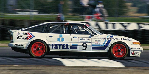 ROVER VITESSE - ISTEL - ALLAM/HULME - WINNERS TOURIST TROPHY SILVERSTONE 1986