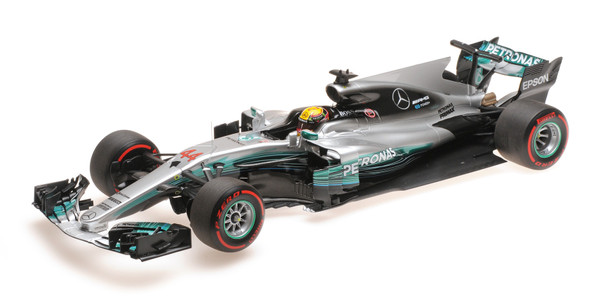 MERCEDES AMG PETRONAS FORMULA ONE TEAM F1 W08 EQ POWER+ - LEWIS HAMILTON - RUSSIAN GP 2017 – Bild 6