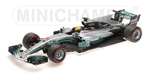 MERCEDES AMG PETRONAS FORMULA ONE TEAM F1 W08 EQ POWER+ - LEWIS HAMILTON - RUSSIAN GP 2017