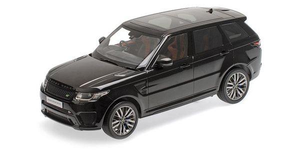 Range Rover Sport SVR 1:18 Kyosho KYO9542BK (C09542BK) Land Rover – image 1