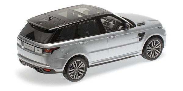 Range Rover Sport SVR 1:18 Kyosho KYO9542S0 (C09542S) Land Rover silver – image 2
