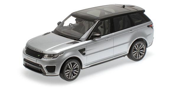 Range Rover Sport SVR 1:18 Kyosho KYO9542S0 (C09542S) Land Rover silber silver – Bild 1