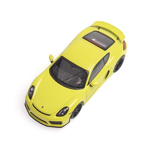 Porsche Cayman GT4 2016 Minichamps 410066122 1:43 grün green  – Bild 2