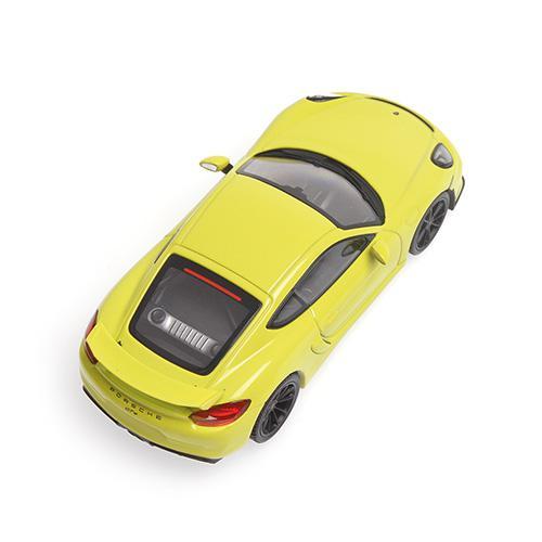 Porsche Cayman GT4 2016 Minichamps 410066122 1:43 grün green  – Bild 3