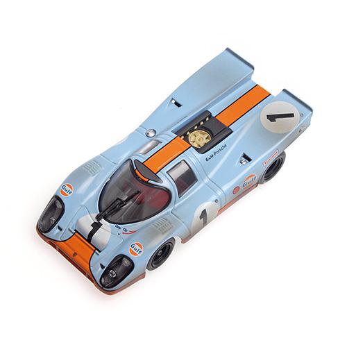 PORSCHE 917 ´GULF´ Minichamps 430706791 1:43 SIFFERT/REDMAN - 24H DAYTONA 1970 - DIRTY VERSION – image 2