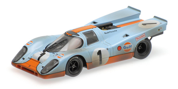 PORSCHE 917 ´GULF´ Minichamps 430706791 1:43 SIFFERT/REDMAN - 24H DAYTONA 1970 - DIRTY VERSION – image 1