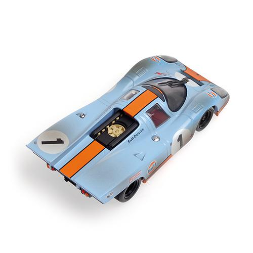 PORSCHE 917 ´GULF´ Minichamps 430706791 1:43 SIFFERT/REDMAN - 24H DAYTONA 1970 - DIRTY VERSION – image 3