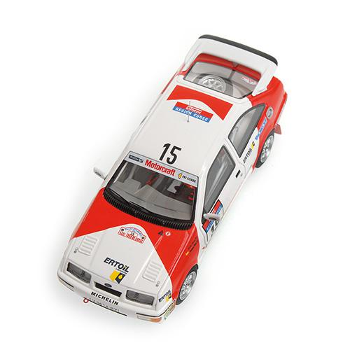 Ford Sierra RS Cosworth Minichamps 437878015 1:43 SAINZ/BOTO - TOUR DE CORSE 1987 – image 3