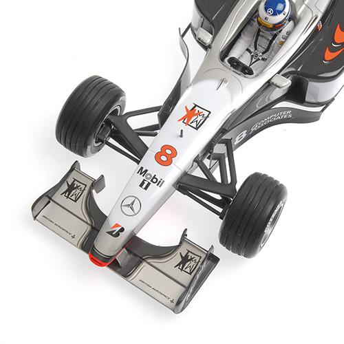 McLaren Mercedes MP4/13 1:18 Minichamps 186980008 Mikka Hakkinnen World Champion 1998 – image 3