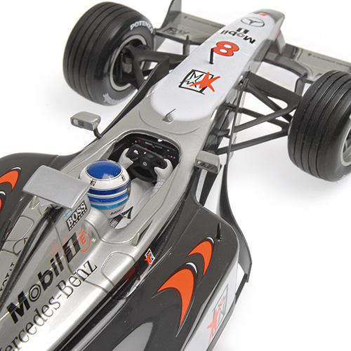 McLaren Mercedes MP4/13 1:18 Minichamps 186980008 Mikka Hakkinnen World Champion 1998 – image 2