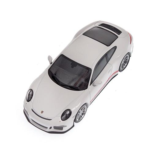 Porsche 911 R 2016 Minichamps 410066221 1:43 weiss WHITE W/ rot RED WRITING L.E. 336 pcs. – image 2