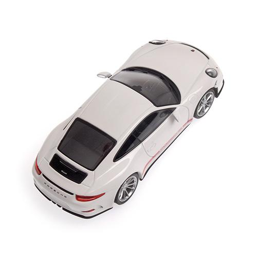 Porsche 911 R 2016 Minichamps 410066221 1:43 weiss WHITE W/ rot RED WRITING L.E. 336 pcs. – image 3