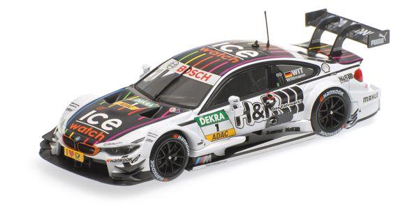 BMW M4 (F82) 1:43 Minichamps 410152491 BMW Team RMG - Marco Wittmann - DTM 2015 – Bild 4