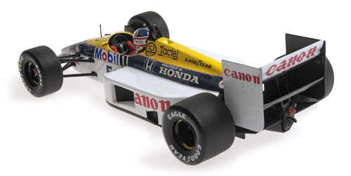 WILLIAMS HONDA FW11 - 1:18 - NIGEL MANSELL - 1986 Minichamps 117860005 – Bild 2