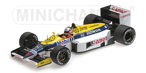 WILLIAMS HONDA FW11 - 1:18 - NIGEL MANSELL - 1986 Minichamps 117860005 – Bild 4