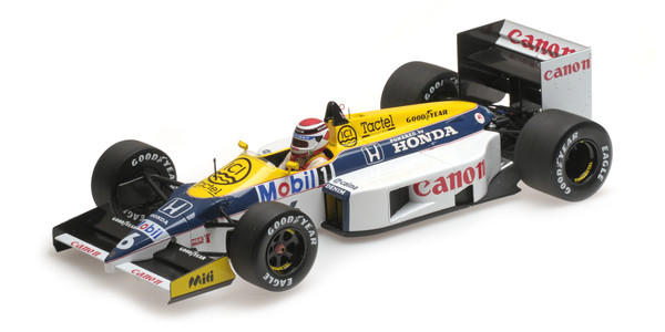 WILLIAMS HONDA FW11 - NELSON PIQUET - 1986 - 1: 18 - Minichamps 117860006 – Bild 6