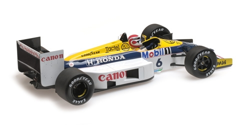 WILLIAMS HONDA FW11 - NELSON PIQUET - 1986 - 1: 18 - Minichamps 117860006 – Bild 4