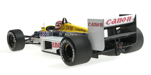 WILLIAMS HONDA FW11 - NELSON PIQUET - 1986 - 1: 18 - Minichamps 117860006 – Bild 3