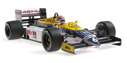 WILLIAMS HONDA FW11 - NELSON PIQUET - 1986 - 1: 18 - Minichamps 117860006 – Bild 2
