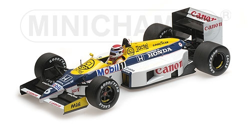 WILLIAMS HONDA FW11 - NELSON PIQUET - 1986 – Bild 2