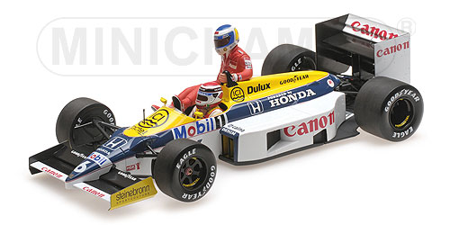 WILLIAMS HONDA FW11 - KEKE ROSBERG RIDING ON NELSON PIQUET - GERMAN GP 1986 – Bild 2