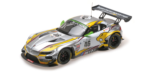 BMW Z4 GT3 (E89) - BMW SPORTS TROPHY TEAM MARC VDS - PALTALLA/LUHR/CATSBURG - WINNERS 24H SPA 2015 – image 2