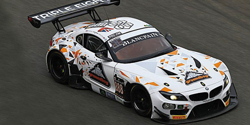 BMW Z4 GT3 (E89) - TRIPLE EIGHT RACING - MOWLE/RATCLIFFE/OSBORNE/M•À_LLER - 24H SPA 2015 – image 1