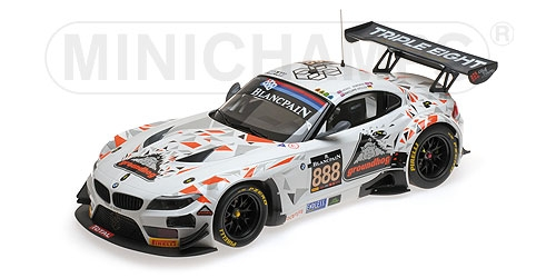 BMW Z4 GT3 (E89) - TRIPLE EIGHT RACING - MOWLE/RATCLIFFE/OSBORNE/MÜLLER - 24H SPA 2015 – Bild 2
