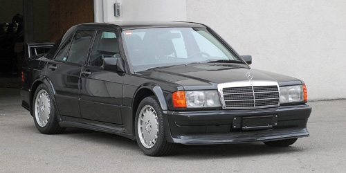 MERCEDES-BENZ 190E 2.5-16 EVO 1 - BLUE-BLACK METALLIC