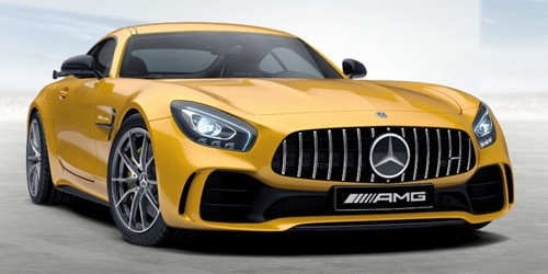 MERCEDES-AMG GT-R - 2017 - YELLOW