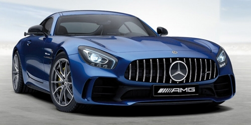 MERCEDES-AMG GT-R - 2017 - BLUE METALLIC