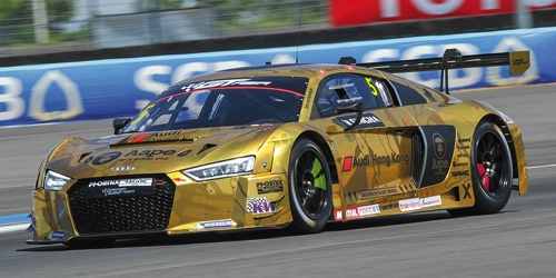 AUDI R8 LMS - AAPE/AUDI HONG KONG - LEE/THONG - GT ASIA 2016 OVERALL 2ND PLACE