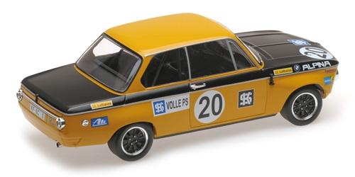 BMW 1600 - BMW ALPINA - HELMUT MARKO - CLASS WINNER AUSTRIA TROPHÄE SALZBURGRING ETCC 1970 – Bild 2