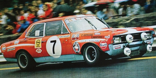 OPEL COMMODORE A STEINMETZ - JOOSSENS/MARSHALL - 24H SPA 1972