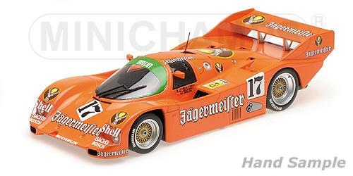 PORSCHE 962C - BRUN MOTORSPORT - BOUTSEN/JELINSKI - 1000KM SPA-FRANCORCHAMPS 1986