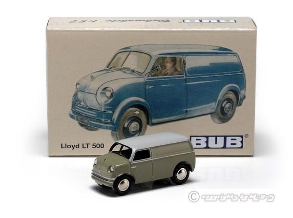 Lloyd LT 500 Kastenwagen grau – Bild 3