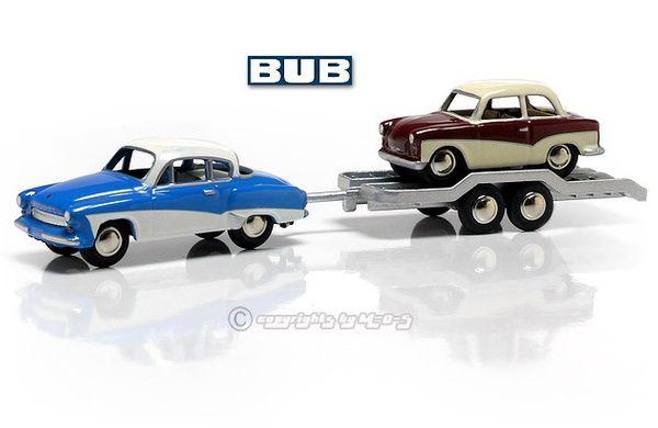 "Wartburg 311 Coupe/Hänger/Trabant ""DDR"" – Bild 1"