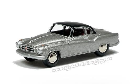 Borgward Isabella Coupe, grau-met./ schwarz – Bild 1