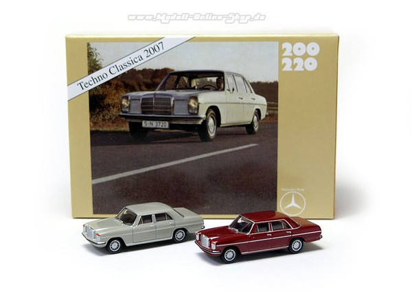 "Set Mercedes-Benz 200/8 ""Techno Classica 2007""   – Bild 1"