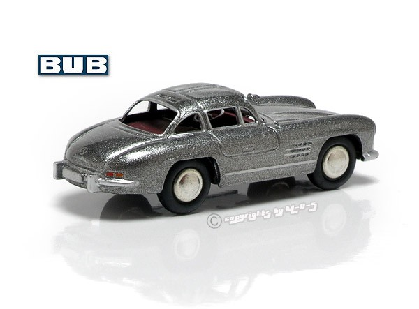 MB 300 SL Coupe, grau-metallic – Bild 2