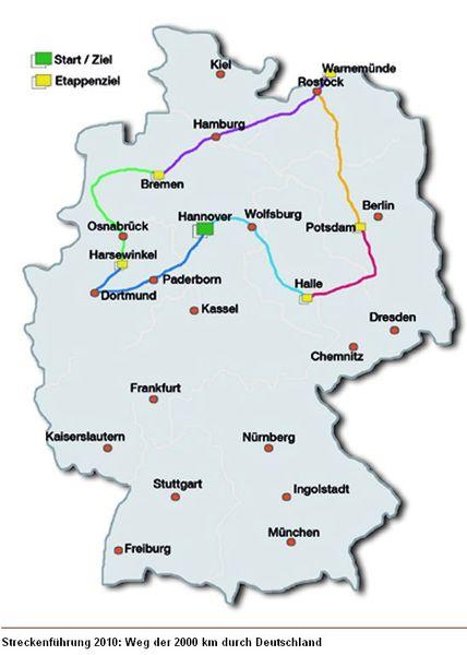 """Set """"2000 km durch Deutschland 2010"""" – Bild 5"""