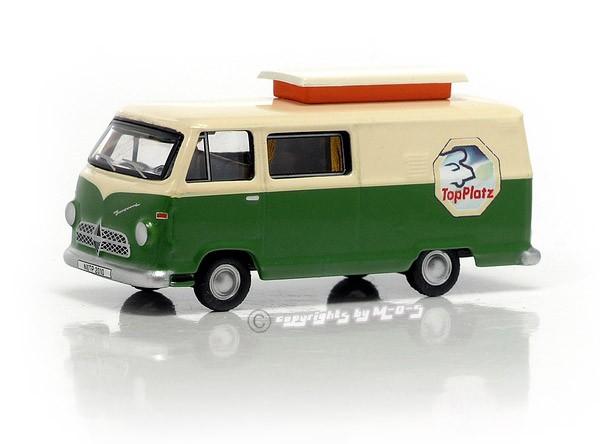 "Borgward Hymer Caravano grün-beige ""TopPlatz"""