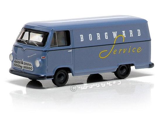 "Borgward B611 Kastenwagen ""BORGWARD"", blau – Bild 1"