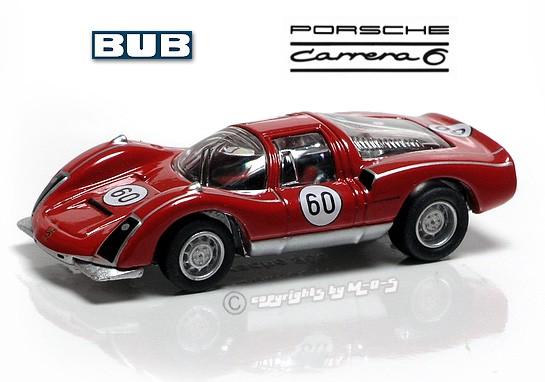 Porsche Carrera 906 #60, weiß-rot – Bild 1