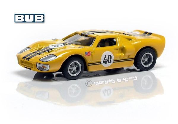 Ford GT40 #40, gelb-schwarz – Bild 1