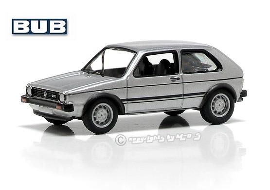 VW Golf I GTI, silber