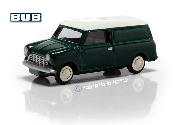 Mini Cooper MKI Van, grün-weiss – Bild 1